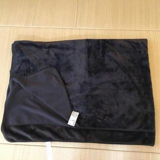 ムジルシリョウヒン(MUJI (無印良品))の無印良品  片面フリース毛布    新品   ブラウン(毛布)