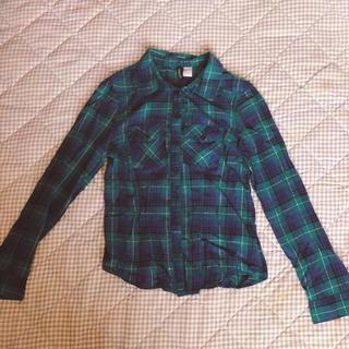 エイチアンドエム(H&M)のチェック♡シャツ(シャツ/ブラウス(長袖/七分))