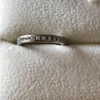 サンクスデイズプラチナム天然石ダイヤリング4号(リング(指輪))