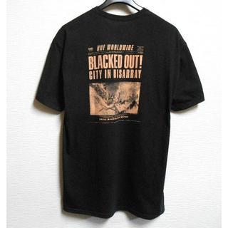 ハフ(HUF)のHUF*ハフ/US:XL[BLACKED OUT]プリント半袖Tシャツ(Tシャツ/カットソー(半袖/袖なし))