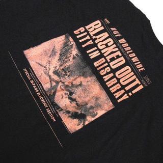 ハフ(HUF)のHUF*ハフ/US:XXL[BLACKED OUT]プリント半袖Tシャツ(Tシャツ/カットソー(半袖/袖なし))