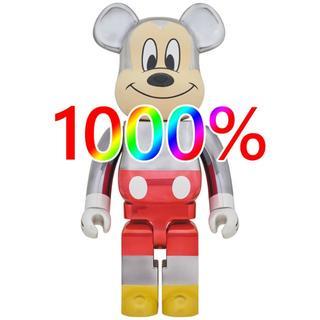 メディコムトイ(MEDICOM TOY)のBE@RBRICK fragmentdesign ミッキーマウス1000%(アニメ/ゲーム)