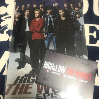 THE RAMPAGE - HIGH & LOW 東京スカイツリーショップ クリアファイル