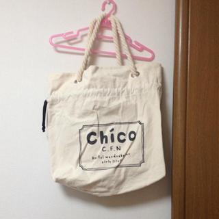 フーズフーチコ(who's who Chico)のwho's who chico バッグ(エコバッグ)