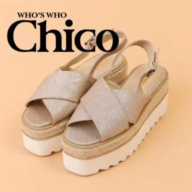 who's who Chico(フーズフーチコ)のwho'swho chico サンダル レディースの靴/シューズ(サンダル)の商品写真