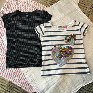ギャップ(GAP)のGAP & Desigual  ★ 110cm ★Tシャツ 2枚セット(Tシャツ/カットソー)