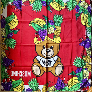 モスキーノ(MOSCHINO)のモスキーノ シルクスカーフ 新品(バンダナ/スカーフ)