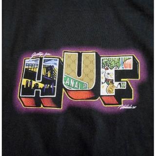 ハフ(HUF)のHUF*ハフ*US:XXL[HUF TOWN]プリント半袖Tシャツ(Tシャツ/カットソー(半袖/袖なし))