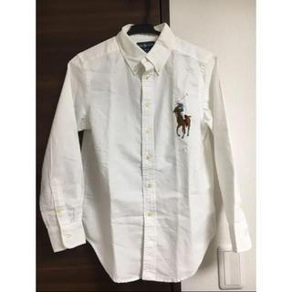 ラルフローレン(Ralph Lauren)のラルフローレン 白ワイシャツ ビッグポニー(シャツ/ブラウス(長袖/七分))