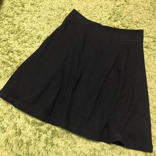 イエナ(IENA)のIENA♡スカート ブラック(ひざ丈スカート)