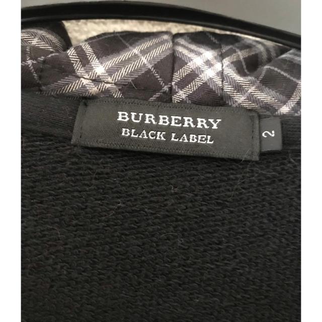 BURBERRY BLACK LABEL(バーバリーブラックレーベル)のBLACK LABEL 「BURBERRY」パーカー  メンズのトップス(パーカー)の商品写真
