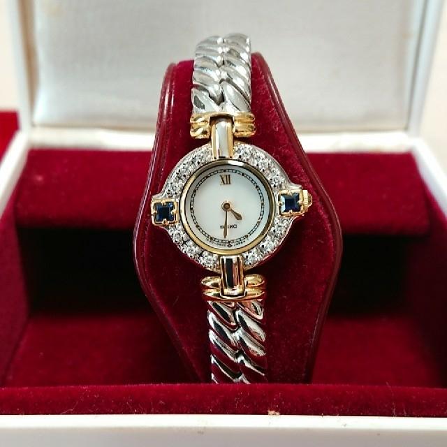 SEIKO - SEIKO セイコー エクセリーヌ 腕時計の通販 by メープル's shop|セイコーならラクマ