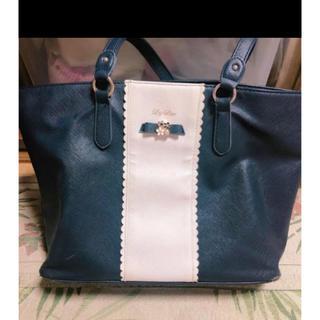 LIZ LISA - リズリサ 紺色トートバッグ