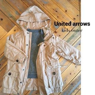 ユナイテッドアローズ(UNITED ARROWS)のユナイテッドアローズ kids モッズコート 105(ジャケット/上着)