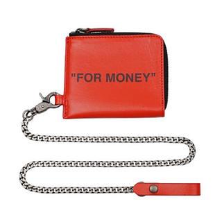 オフホワイト(OFF-WHITE)のoff-white チェーンウォレット 財布(折り財布)