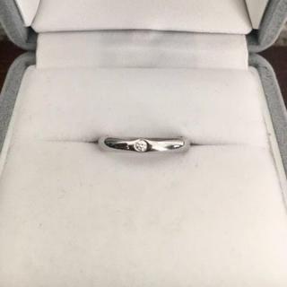 ティファニー(Tiffany & Co.)のティファニー スタッキング バンドリング Pt950 4.6g(リング(指輪))