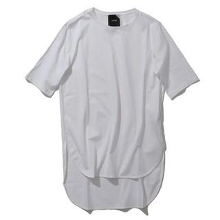 Demi-Luxe BEAMS - ATON  ラウンドヘムTシャツ カットソー