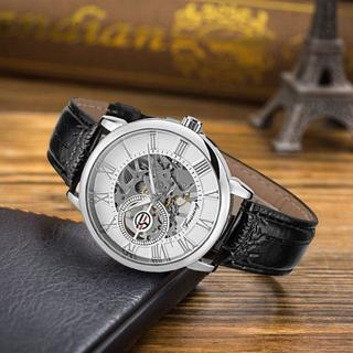 海外スケルトン腕時計 お値下げ中4480円にての通販|ラクマ