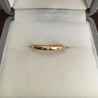 ティファニー(Tiffany & Co.)のティファニー スタッキング バンドリング K18RG 3mm 3.7g(リング(指輪))