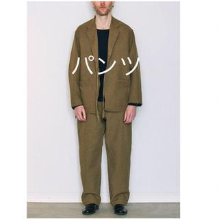 COMOLI - 連休値下げ コモリ COMOLI ウールコットンベルテッドパンツ パンツ