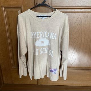 アメリカーナ(AMERICANA)のアメリカーナ(Tシャツ(長袖/七分))