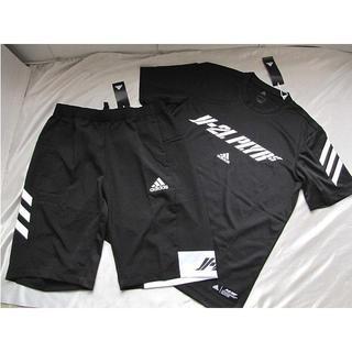 adidas - 新品★adidas アディダス PLYR-T黒、クロスハーフパンツ(O)★送料
