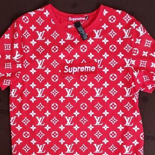 LOUIS VUITTON - Louis Vuitton×SupremeコラボTシャツ