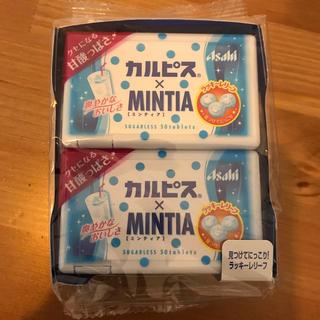アサヒ(アサヒ)のミンティア 箱売 カルピス(菓子/デザート)