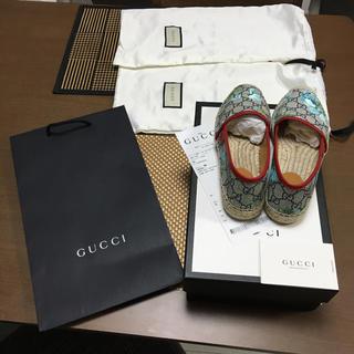 グッチ(Gucci)の新品未使用エスパドリーユGUCCIグッチ22.5cmブルームス シューズ靴(スニーカー)