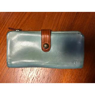 クレドラン(CLEDRAN)のクレドラン ブルーグレー 長財布(財布)