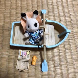 エポック(EPOCH)のシルバニア☆ボートとお人形セット(その他)