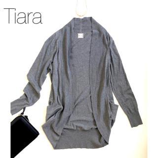 tiara - ★ティアラ★コットンレーヨン やわらかカーディガン