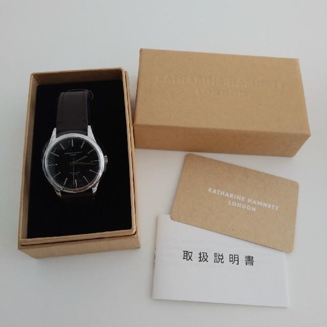 KATHARINE HAMNETT - メンズ腕時計の通販 by bunny.t's shop|キャサリンハムネットならラクマ