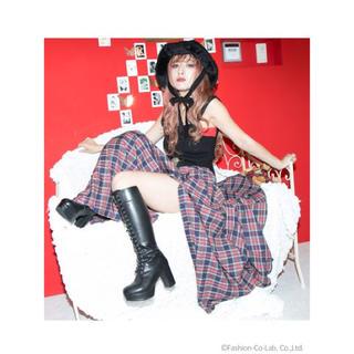リリーブラウン(Lily Brown)のLast Virgin lace up long boot(ブーツ)