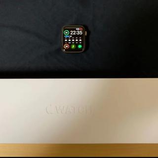 アップルウォッチ(Apple Watch)のApple watch series4 ステンレス ゴールド 44mm LTE(スマートフォン本体)