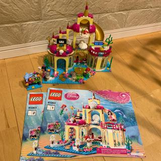 Lego - LEGO レゴ ディズニー プリンセス アリエルの海の宮殿 41063