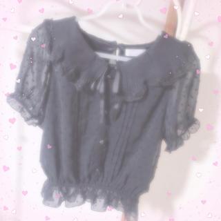 リズリサ(LIZ LISA)の♡ LIZLISA トップス ♡(カットソー(半袖/袖なし))