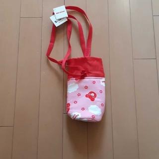 ミキハウス(mikihouse)の新品未使用ミキハウス水筒ペットボトルカバー(弁当用品)