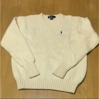 ポロラルフローレン(POLO RALPH LAUREN)のラルフローレン ニット セーター ウール100%  LL(ニット/セーター)
