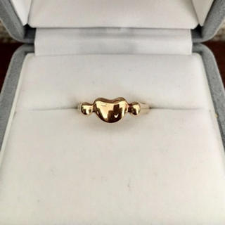 ティファニー(Tiffany & Co.)のティファニー ビーン リング K18YG 4.5g(リング(指輪))