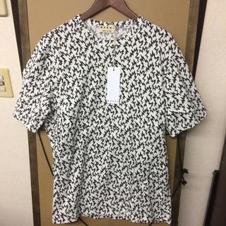 マルニ(Marni)の【新品】MARNI  総柄デザインTシャツ 50 Lサイズ(Tシャツ/カットソー(半袖/袖なし))