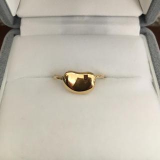 ティファニー(Tiffany & Co.)のティファニー ビーン リング K18YG 2.2g(リング(指輪))