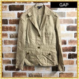ギャップ(GAP)の【GAP】ゴールドボタンコットンジャケット(テーラードジャケット)