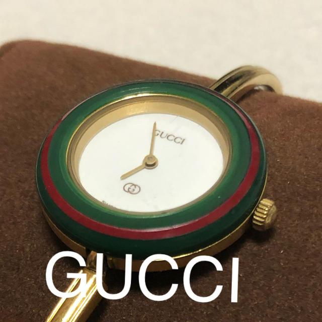 Gucci - GUCCIチェンジベゼル 腕時計 1100-L クオーツの通販 by 新米パパ's shop|グッチならラクマ