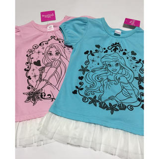 Disney - プリンセス Tシャツ