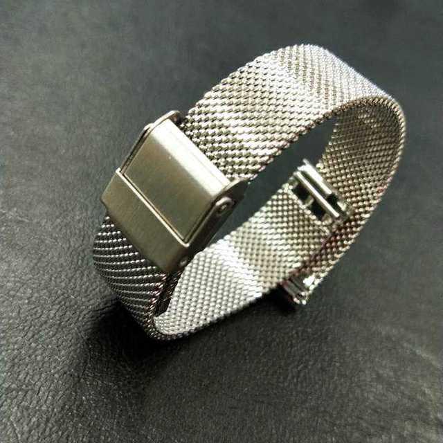 時計バンド ステンレス メッシュ 12mm ユニセックス 腕時計 替え 14mmの通販 by SIXSENCE|ラクマ