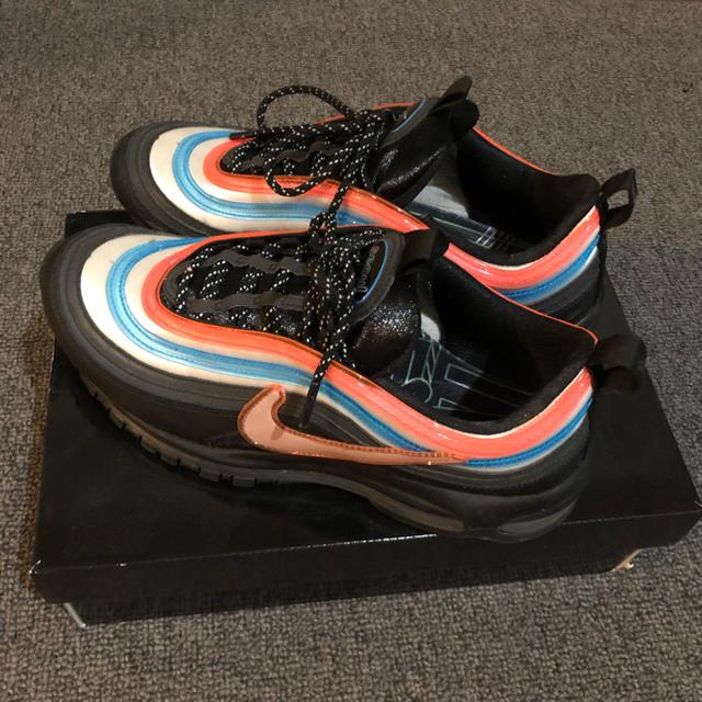 Black Air Max 97 Shoes. Nike.com ID