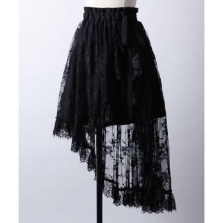 ラベルエチュード(la belle Etude)の巻きスカート付きショートパンツ(ショートパンツ)