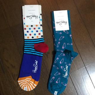 ビームス(BEAMS)のhappy socks 2点セット(ソックス)