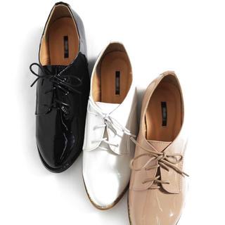 ディーホリック(dholic)のDHOLIC エナメル調オックスフォードシューズ(ローファー/革靴)